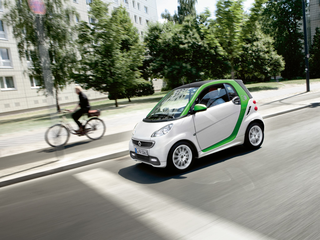 Smart Fortwo Electric Drive ein beliebtes Firmenauto