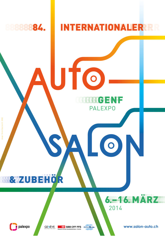 84. Auto-Salon in Genf am 6. – 16. März 2014