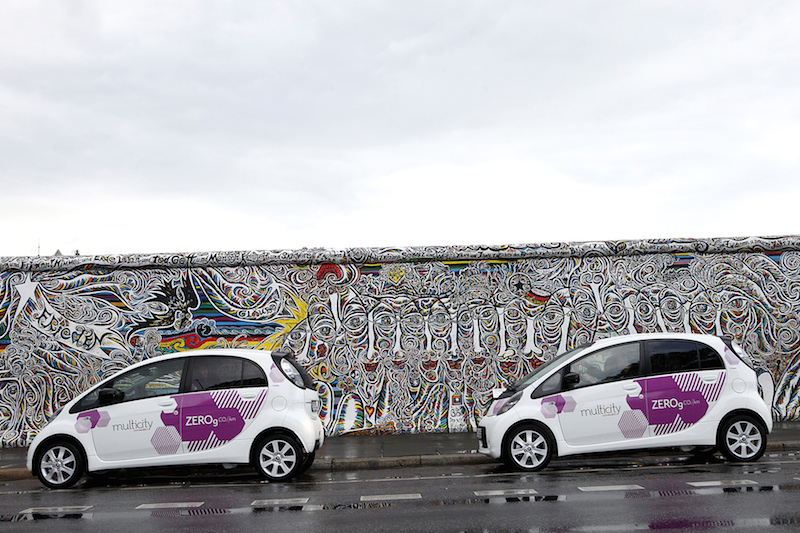 Citroëns Carsharing in Berlin: Eine Million Kilometer in E-Autos